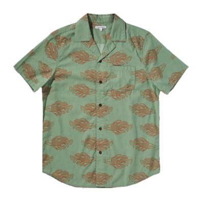 Banks Journal Banks Journal Scales S/S Shirt Basil