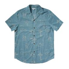 Banks Journal Banks Journal Seaside S/S Shirt Smoke Blue