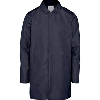 Knowledge Cotton Apparel Knowledge Cotton Apparel Functional Carcoat Jacket Total Eclipse