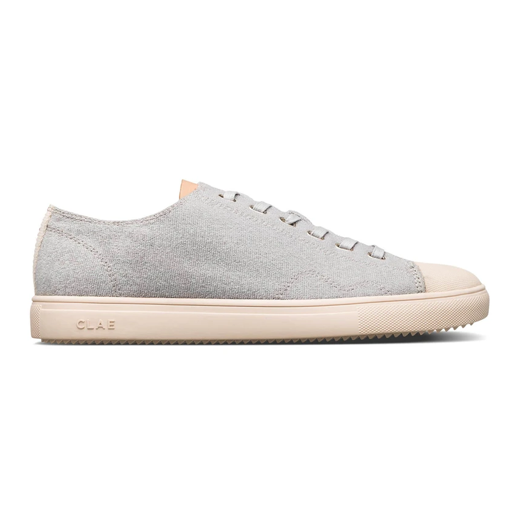 Clae Clae Herbie Textile Microgrey Recycled Terry