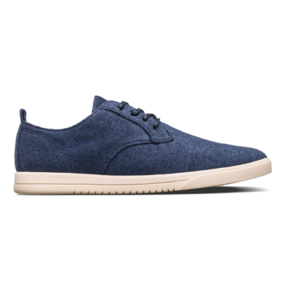 Clae Clae Ellington Textile Navy Recycled Terry
