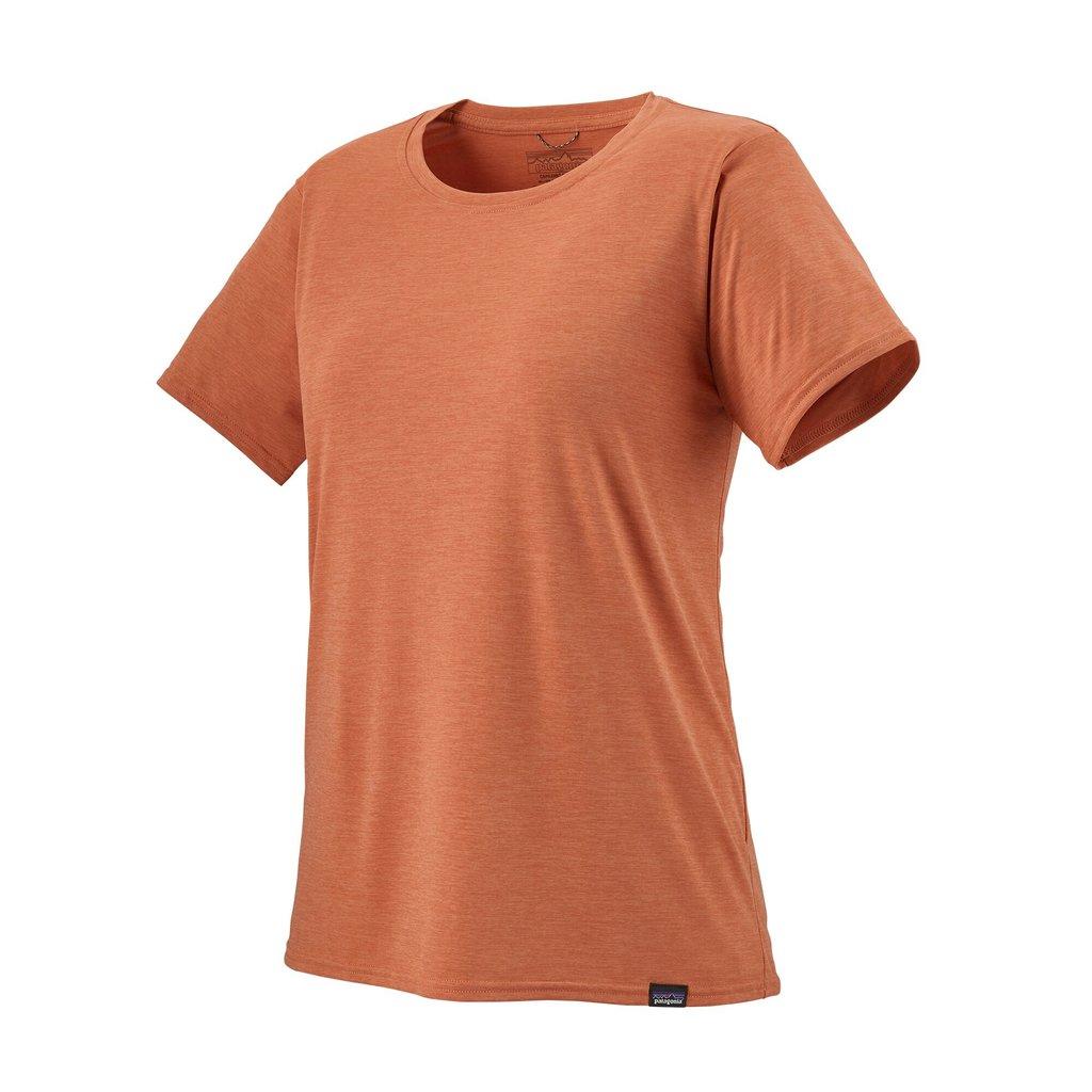 Patagonia Patagonia Womens Cap Cool Daily shirt Mellow Mellon X-Dye