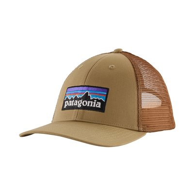 Patagonia Patagonia P-6 Logo LoPro Trucker Hat Classic Tan