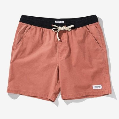 Banks Journal Banks Journal Primary Boardshort Dark Orange