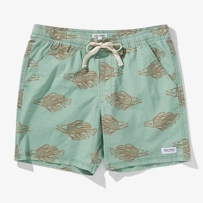 Banks Journal Banks Journal Scales Boardshort Basil