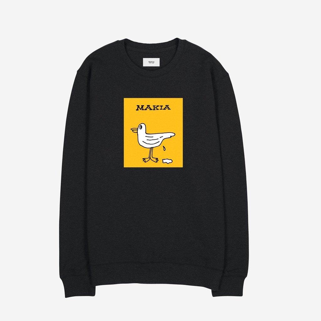 Makia Makia Gully Sweatshirt Black