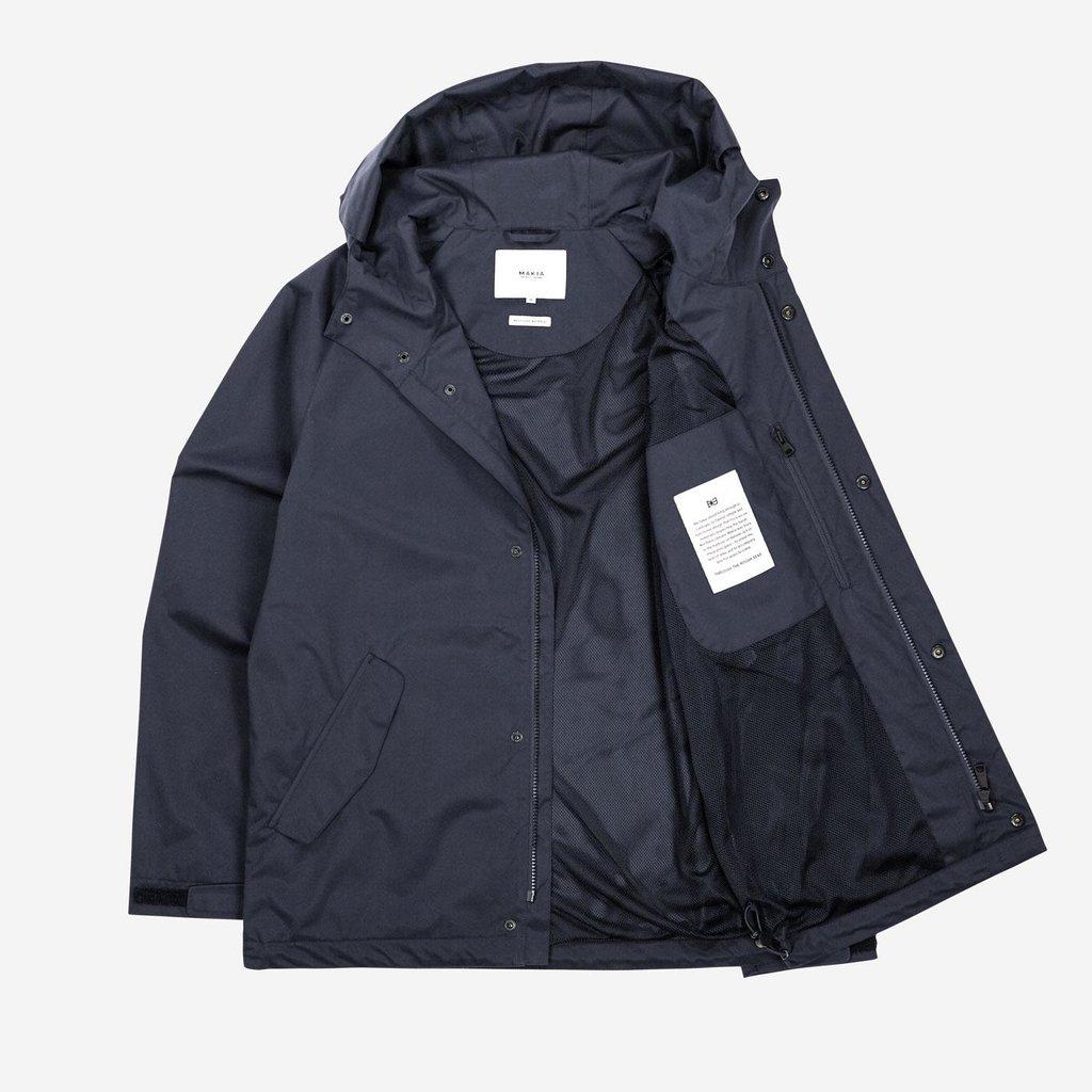 Makia Makia Region Jacket Dark Blue