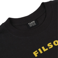 Filson Filson S/S Outfitter Graphic T-Shirt Faded Black