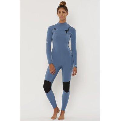 Sisstrevolution Sisstrevolution 7 Seas 4/3 Chest Zip Full Suit Coastal Blue