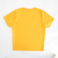 Behind The Pines Behind The Pines Organic Tee Regular Fit Sunset Yellow