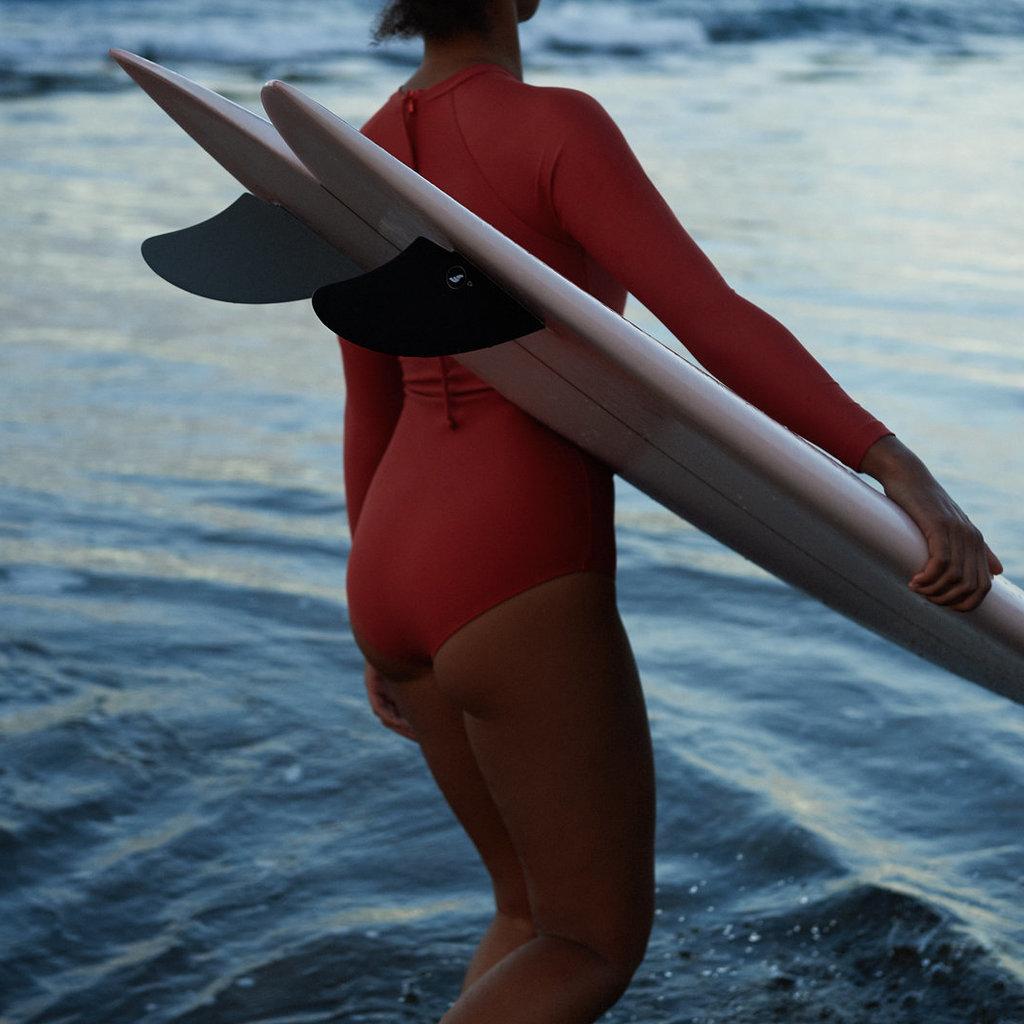 OY Surf Apparel OY Surf Apparel Flores Maroon