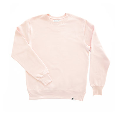 Behind The Pines Behind The Pines Organic Crewneck Light Pink