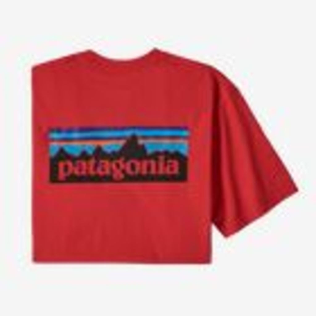 Patagonia Patagonia P-6 Logo Responsibili-Tee Fire