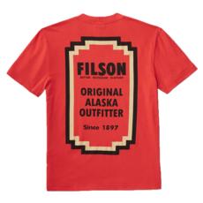 Filson Filson Lightweight Outfitter T-shirt Red