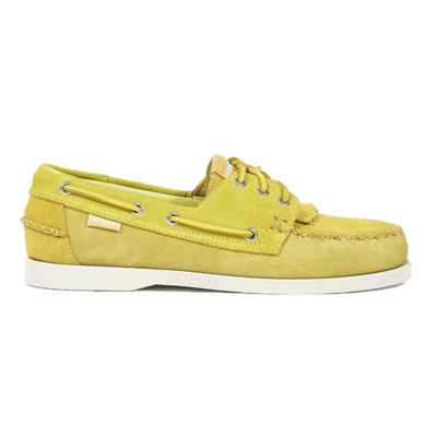Universal Works Universal Works x Sebago Portland Suede Multi Tone Suede Yellow