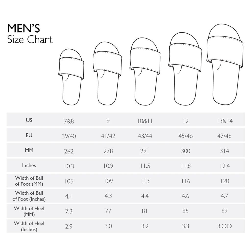 Indosole Indosole Men's ESSNTLS Slides Sea Salt