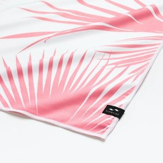 Slowtide Slowtide Day Palms Travel Towel Pink