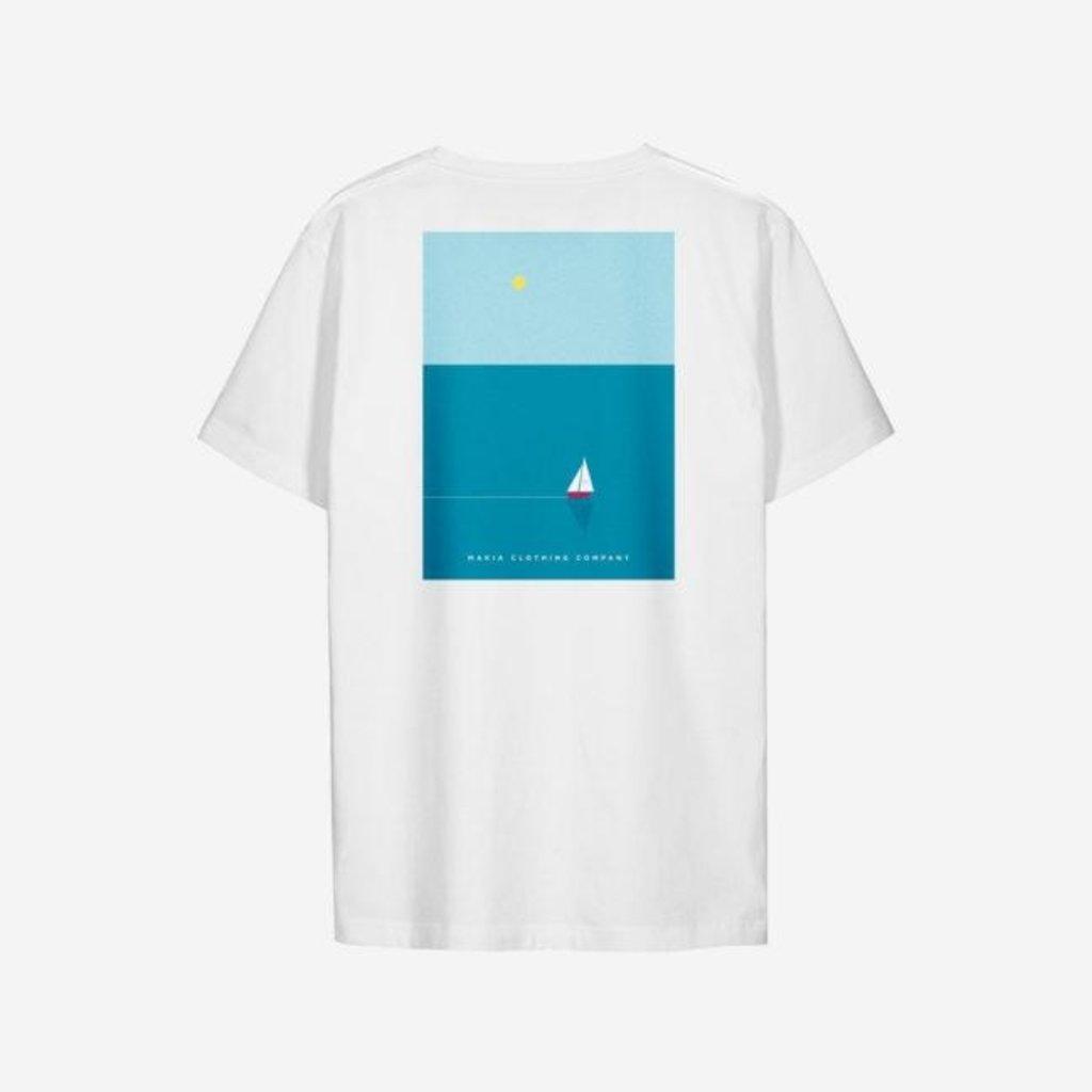 Makia Makia Vista T-Shirt White