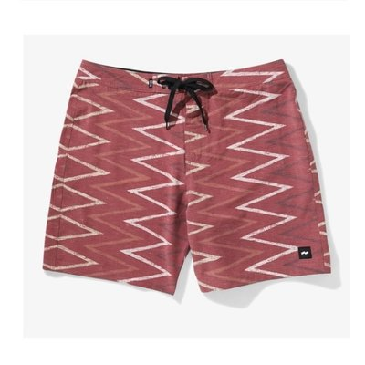 Banks Journal Banks Journal Jagger Boardshort Mahogany