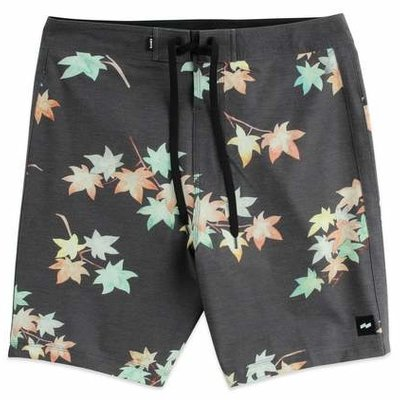 Banks Journal Banks Journal Eco Boardshort Dirty Black