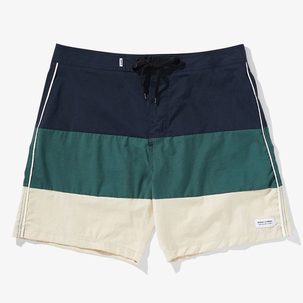 Banks Journal Banks Journal Voyage Boardshort Dirty Denim