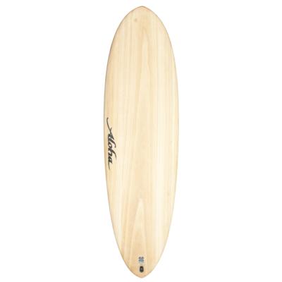Aloha Surfboards Aloha Surfboards Fun Division Eco Skin Wood Futures 5F 6'4