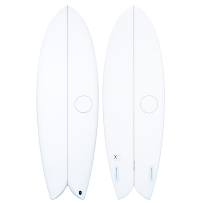 Agency Surfboards Agency Surfboards Twin Fish Sand Futures 2F 6'0