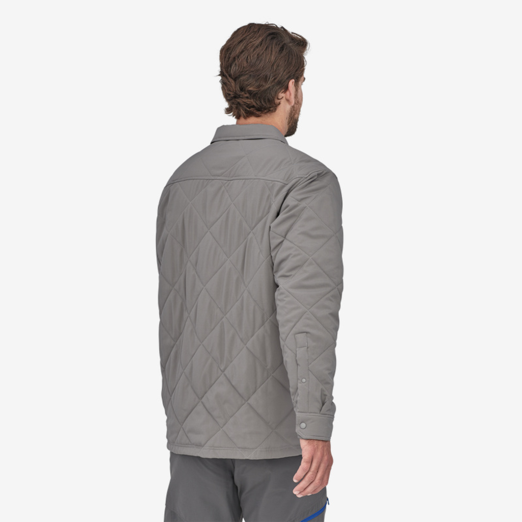 Patagonia Patagonia Mens Tough Puff Shirt Hex Grey