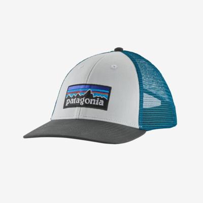 Patagonia Patagonia P-6 LoPro Trucker Hat White / Forge Grey