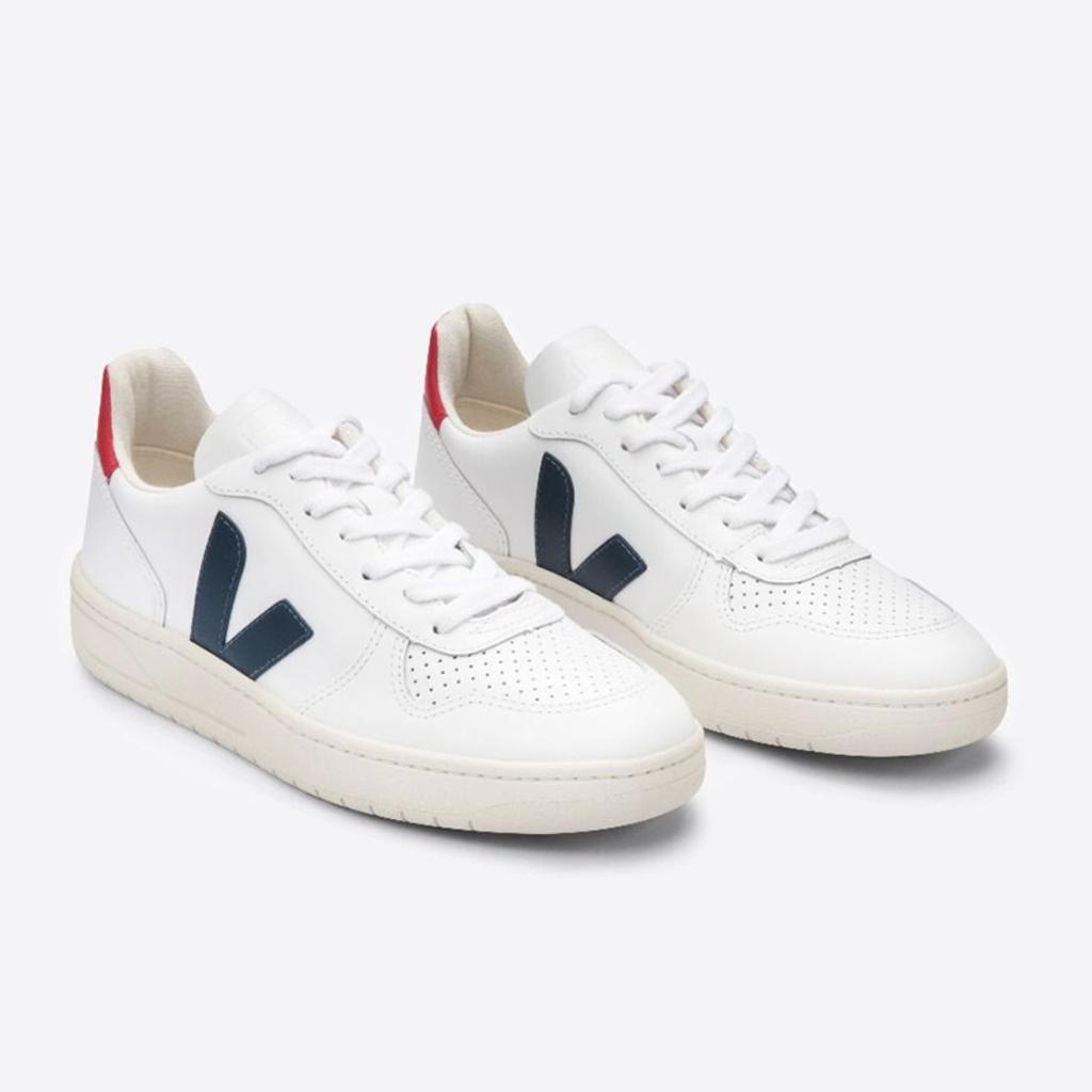 Veja Veja V10 Leather Extra White Nautico Pekin