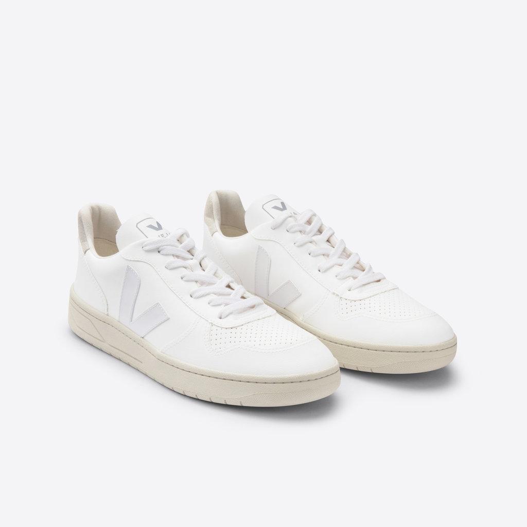 Veja Veja V-10 Bastille CWL White White Natural / Vegan Leather