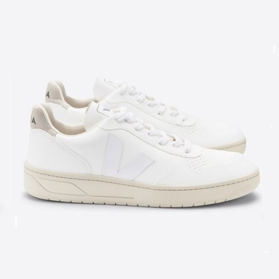 Veja Veja V-10 Bastille CWL White White Natural / Vegan Leather