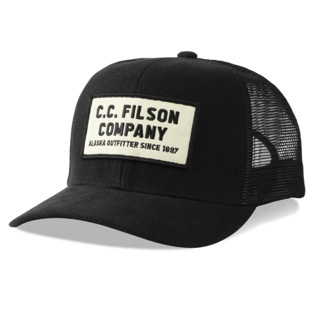 Filson Filson Logger Cap Black Alaska Outfitter
