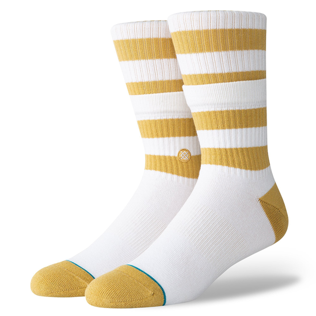 Stance Stance Stacked Stripe White