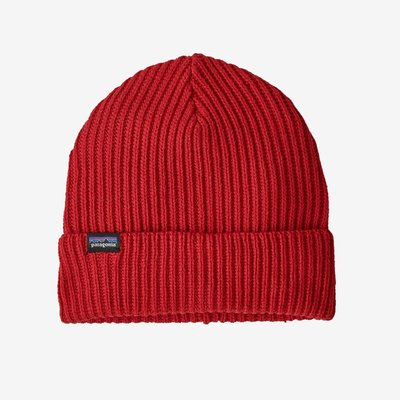 Patagonia Patagonia Fishermans Rolled Beanie Hot Ember