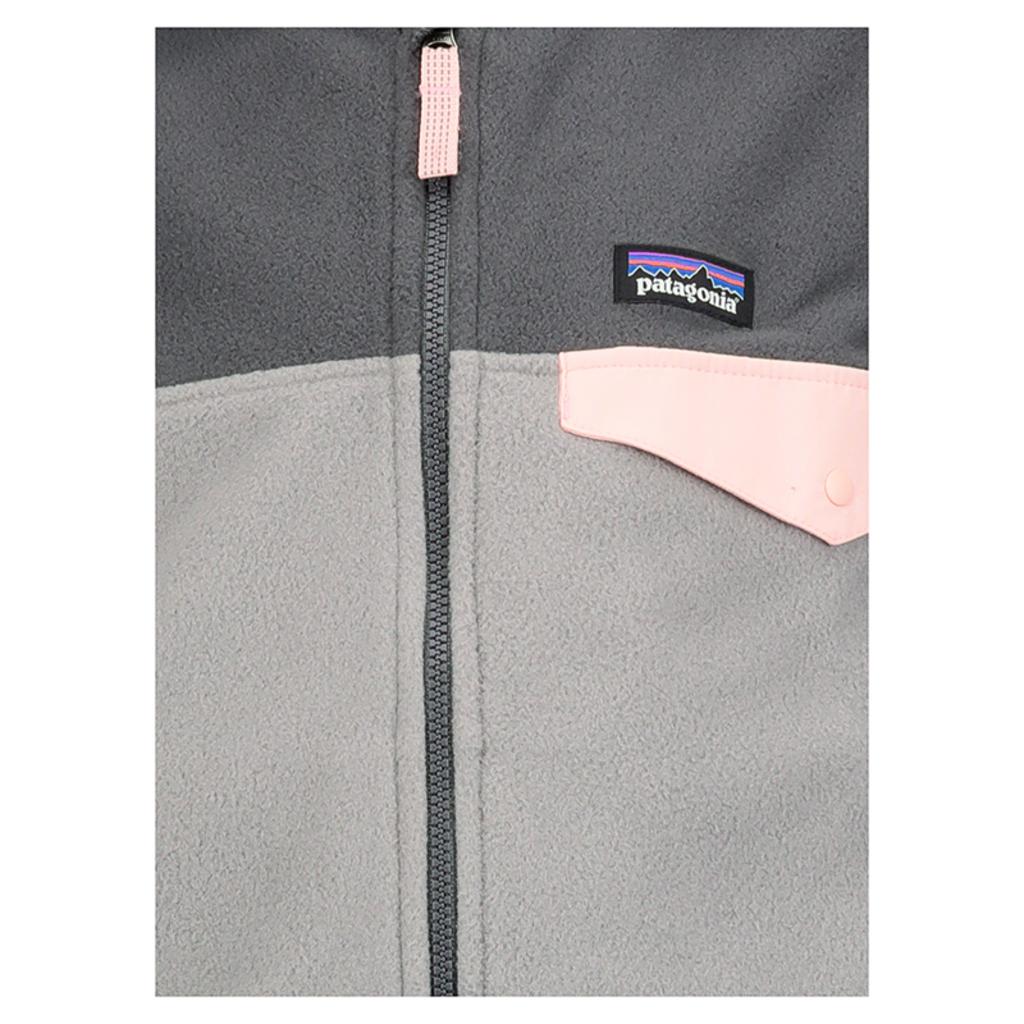 Patagonia Patagonia Girls Micro D Snap-T Jacket Feather Grey