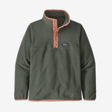 Patagonia Patagonia Boys Micro D Snap-T Pullover Kale Green