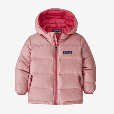 Patagonia Patagonia Baby Hi-Loft Down Sweater Hoody Rosebud Pink