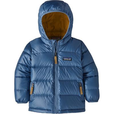 Patagonia Patagonia Baby Hi-Loft Down Sweater Hoody Wooly Blue