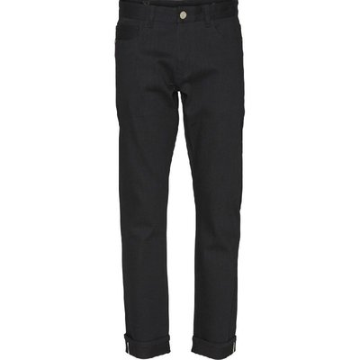 KnowledgeCotton Apparel KnowledgeCotton Apparel OAK Raw Black Selvedge Denim
