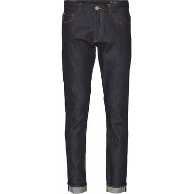 KnowledgeCotton Apparel KnowledgeCotton Apparel ASH Raw Blue Selvedge Denim