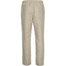 KnowledgeCotton Apparel KnowledgeCotton Apparel FIG Loose Linen Pant Light Feather Grey