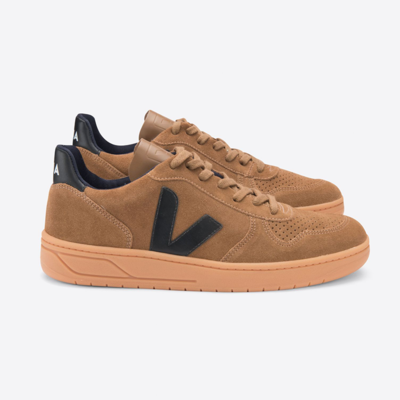 Veja Veja V-10 Suede Brown / Black Gum Sole