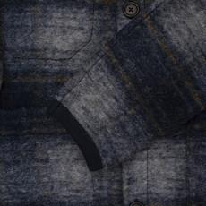 Universal Works Universal Works Austin Wool Fleece Cardigan Navy