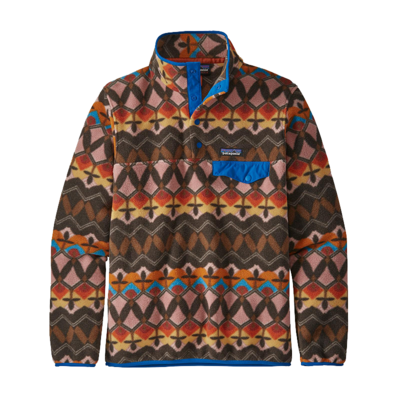Patagonia Patagonia W's Lightweight Synch Snap-T Pullover Companions Big: Anthos Pink