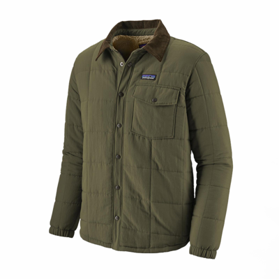 Patagonia Patagonia M's Isthmus Quilted Shirt Jacket Industrial Green