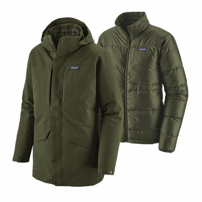 Patagonia Patagonia M's Tres 3 in 1 Parka Kelp Forest