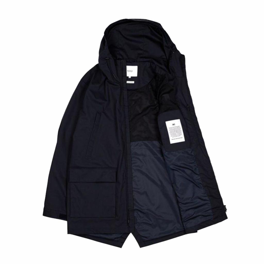 Makia Makia Shelter Jacket Dark Navy