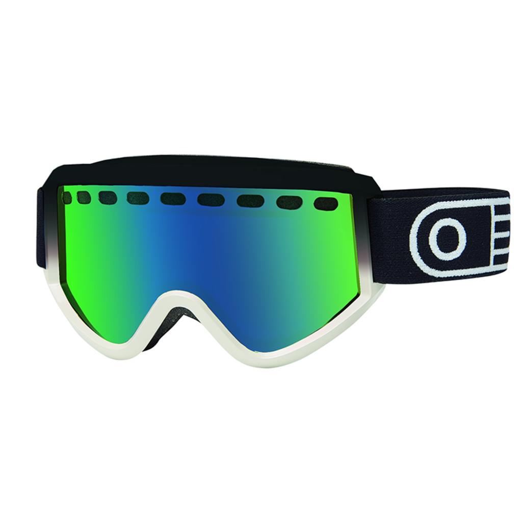 Airblaster Airblaster Pill Air Goggle Black White Gloss / Green Air Radium
