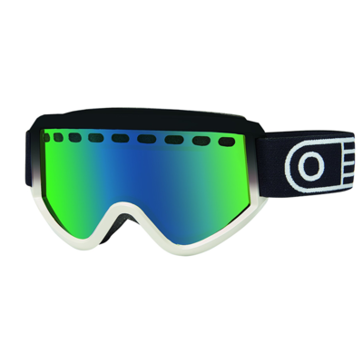Airblaster Airblaster Pill Air Goggle Black White Gloss / Green Air Radium